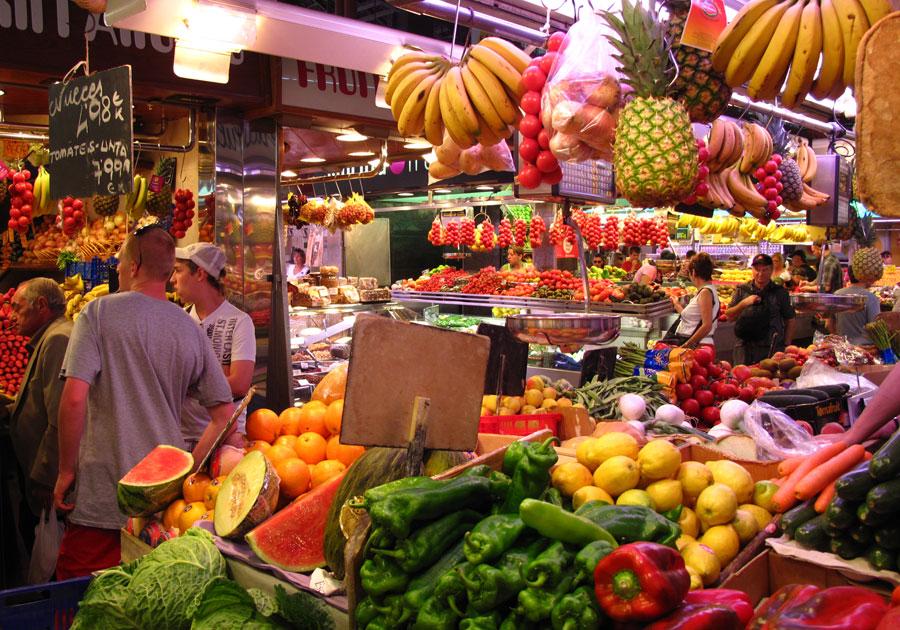 La Boqueria Market Barcelona 12