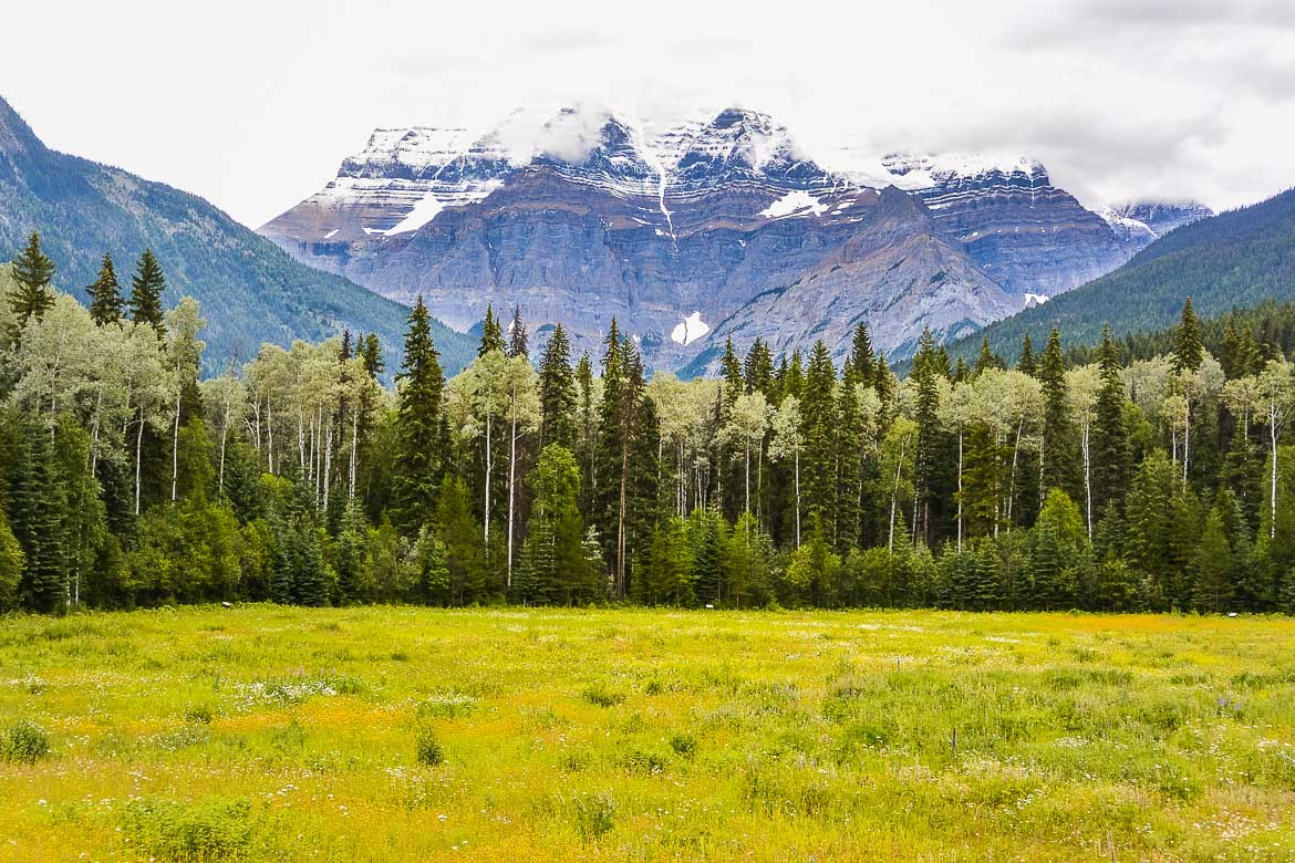Great Canadian Road Trip - Mt Robson Provincial Park BC