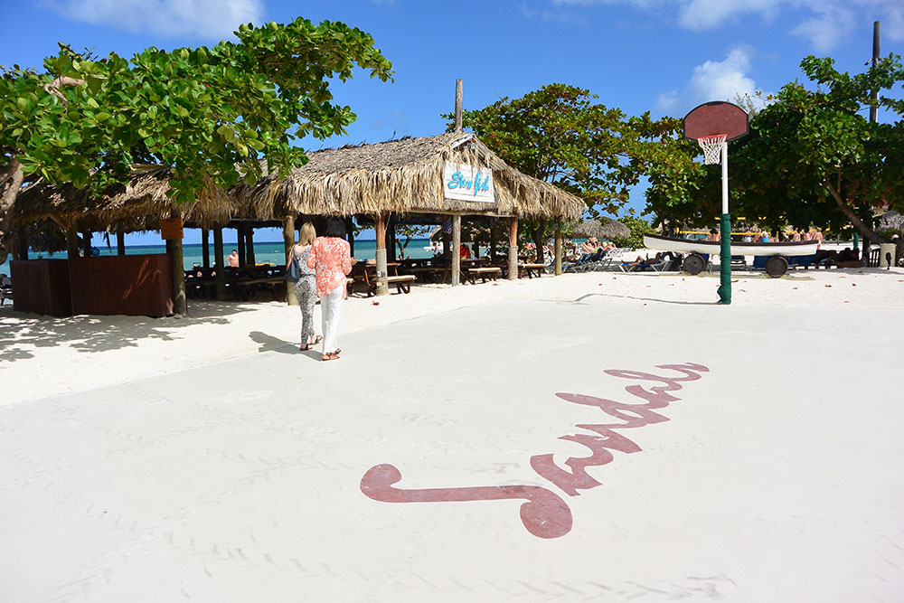 Sandals Resorts - Montego Bay Basketball Court