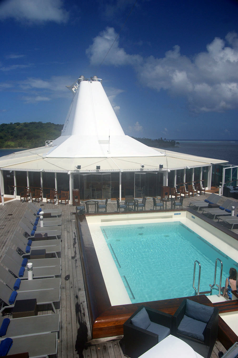 Paul Gauguin Cruises - French Polynesia Deck
