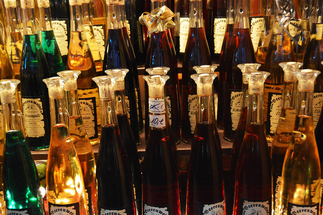 German Christmas Market Gifts Schnapps