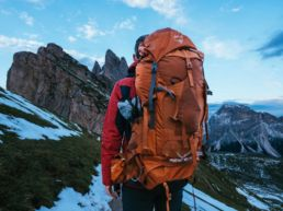 Backpacking as an adult